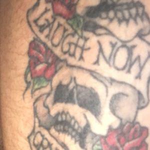 #skulltattoo#laughnowcrylater