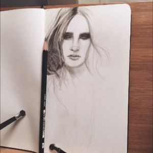 Wip. Graphite drawing.