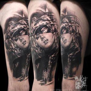 #volpe #negative #studioyorick #tattoo2me