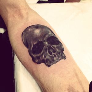 Tatuagem caveira #skull #caveira