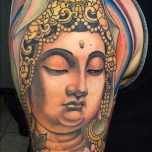 Quan yin. Goddess of mercy #KingsAvenueTattoo #JasonJunetattoos #JasonJune #quanyin