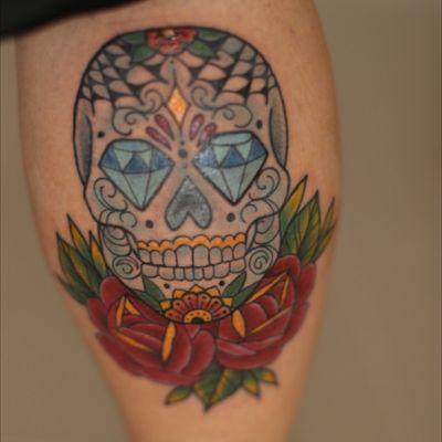 #sugarskull #mexicanskull #caveiramexicana #skull
