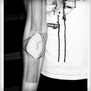 Symbolic #symbolism #linework #broken #strings