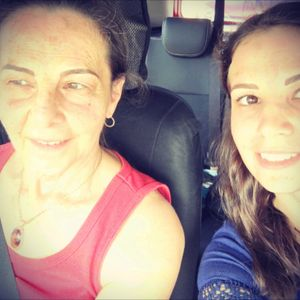 Mine and mum's cosmetic eyebrow tattoos #angiesimone #goldcoastaustralia