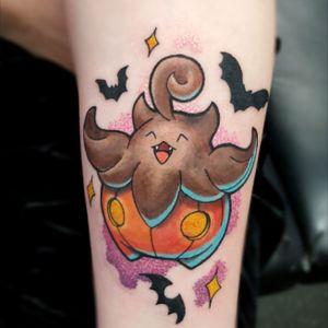 #pumpkaboo #pokemon #pumpkabootattoo #colour #cute #halloween
