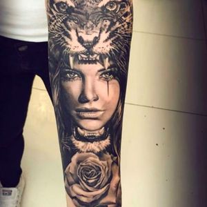 #rose #indian #tiger
