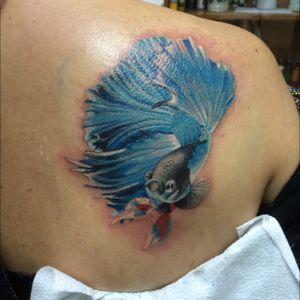#tattoo #tattooinrussia #tattoorussiao #fish #inkmachines #worldfamousink #eternalink #intenzetattooink