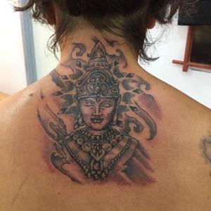 #necktattoo #buddha