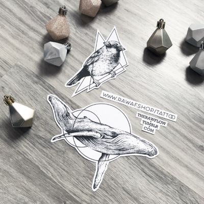 Surreal dotwork sparrow and whale, download the PDF filesfrom www.rawaf.shop #tattoo #dotwork #sparrow #bird #whale #animal #nature #surreal #geometric #dotworktattoo #sparrowtattoo #whaletattoo #birdtattoo #geometrictattoo