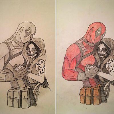#Deadpool #Death #marvel