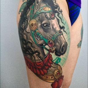 Horse #goodguysupply #mithramfg #injecta #horsetattoo