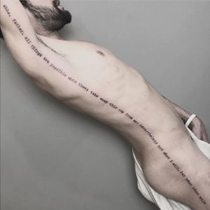 Escrita! #fineline #finelinetattoo #fineartist #FineLineTattoos #finelined #fineart #traçofino #tattoodetraçofino
