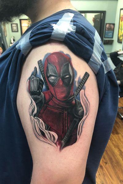 Did this #Deadpool #tattootoday!