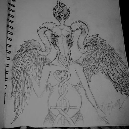 Demonic sketch