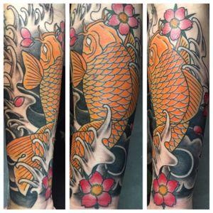 Koi #koi #koitattoo #japanesetattoo #irezumi #irezumitattoo #oriental #jktatts #tattoo #tattoos #arm #koifish #koifishtattoo #ink #inked #tattooartist #art #artist #inkedmen