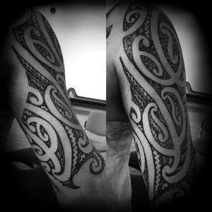 Add on to shoulder sleeve #maoriAotearoa #maorimoko #moko #whakapapa #tatau