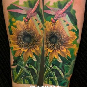 A sunflower would be my dream tattoo, very detailed and bright in color. What inspires me to get this fine piece of work is My Baby Girl, Alannah Jade. What she is, is my sunshine my only sunshine. I got pregnant at 18 and had her at 19 years old. Unsure of what motherhood would be at a young age, I kept my mind open and took life day by day. The moment I felt her first move and kick, just gave me much more meaning as to why I should move forward in life. Then, the day came to me having her and the moment the doctor put her on me, was life changing. With every contraction I had her heart rate was dropping and Doctors had to induce my labor quickly or we would have to be going through an emergency C-section. There was no time to lose and we began the pushing process, and two pushes in, the moment in which I knew, my life was at its balance. She brightened up the room with her sweet calm innocence but most importantly she gave my life color. Vibrant color! Her smile is so captivating, her laughter is so uplifting, and her Love for me her Mommy is so strong. I don't regret any of it, rill this day everything is a learning experience. I don't take life for granted not one bit. It's a blessing to have the ability to have a child. She is my sunflower, my sunshine, my only sunshine. #megansdreamtattoo #meganamassacre #megandreamtattoocontest @megan_massacre #Motherhood #StrongWomen