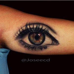#joseecd #eye #eyetattoo #hyperrealism