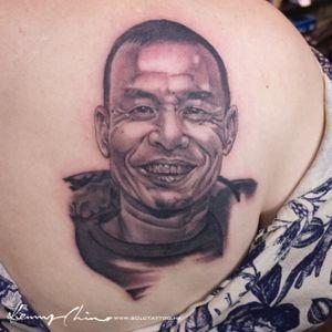Tattoo by Kenny #tattoo #solotattoo #hongkongtattoo #portrait #blackandgrey