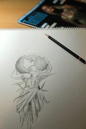 #pencildrawing #holdtheworld