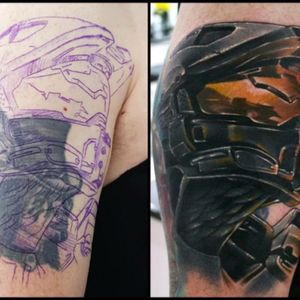 #masterchief #halo #videogame my Halo cover up