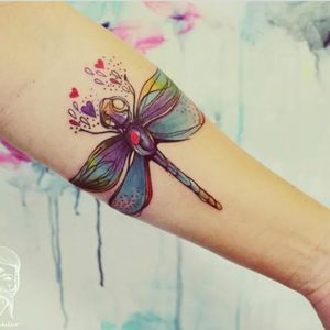Dragonfly #dragonfly #heart