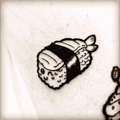#sushi #sushitattoo #manga #mangatattoo #kawaii #kawaiitattoo