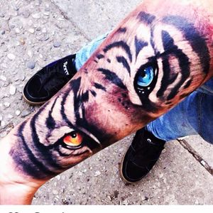 Artist #ricardolugo #tiger #tigerseye #eyes #animals #halfsleeve