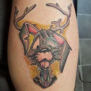 #jackalope #tattoosbymertzy