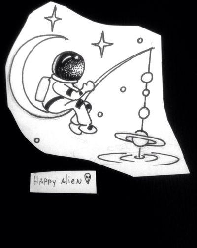 Astronaut fishing #space #galaxy #galaxia #espacio #ufo #stars #estrellas #planeta #jupiter #saturno #planet #cosmo #cosmic #tattoo #ink #inkñofe #tattoolige #tatuaje #art #arte #artlife #blackandwhite #blancoynegro #draw #dibujo #happyalientattoo #detail #work #happy #dotwork #love