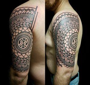 Done by Jarno Theijn - Resident Artist. #tat #tatt #tattoo #tattoos #amazingtattoo #ink #inked #inkedup #amazingink #maori #maoritattoo #maoristyle #maoriart #arm #armpiece #sleeve #amazingart #artlovers #tattoolovers #inklovers #art #culemborg #netherlands