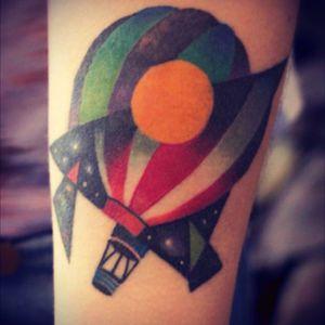 Airballoon #airballoon#colour#colourtattoo @thedavidcote