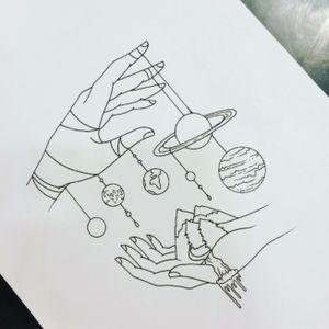 Galactic hands