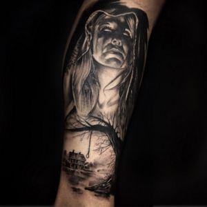#fear #blackAndWhite #DarkArt #curitibatattoo #curitiba #tattoo #alexandreprim #silenceart #newsilence