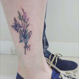 #fineline #arrow #watercolor #watercolour #watercolortattoo #watercolortattooartist #tattoo @ycoiado