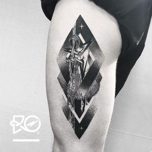 By RO. Robert Pavez • Tears of the Universe • Studio Nice Tattoo • Stockholm - Sweden 2017 • #engraving #dotwork #etching #dot #linework #geometric #ro #blackwork #blackworktattoo #blackandgrey #black #tattoo