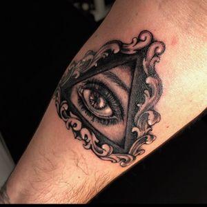 #allseeingeye #allseeingeyetattoo #tattoooftheday