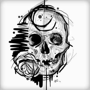 #skull #InkTattoo