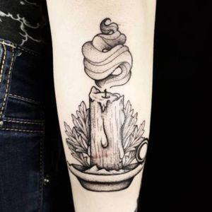 Blackwork Witchy Candle #vegantattoo #onlyblackart #btattooing #blacktattooart #ladytattooers #qttr #darkartists #blackworkers #blackwork #blackink #tattoo #tattoos #flowertattoo #floraltattoo #planttattoo #botanicaltattoo #naturetattoo #dotworktattoo #phillytattoo #phillyink #bestofphilly #fishtown #newjerseytattoo #puertoricotattoo #delawaretattoo #newyorktattoo #baltimoretattoo #sandiegotattoo #witchtattoo #candletattoo