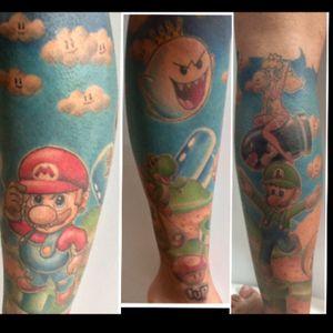 #mario #supermariobros #supermario #mariobros #Tattoodo