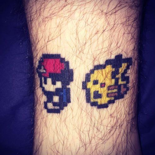 #pokemon #pixel #pikachu