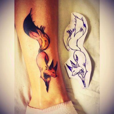 #fox #foxtattoo #color