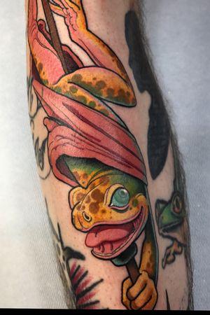 Frog! #tattoodoambassador #tattoo #frog