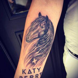 #tattoo #horsetattoo