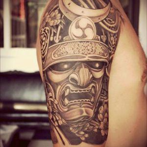 Samurai mask #meagandreamtattoo