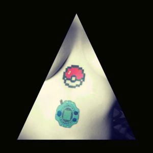 #pokemon #digimon #digivice #pokeball #pokeballtattoo #pokebola #pokemontattoo