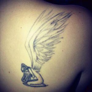 #blackandgrey #angel