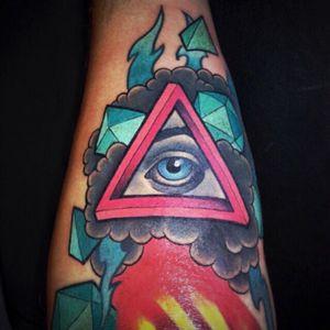 #eye #escher #triangle #eyeofprovidence