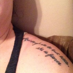 """""""And though she be but little, she is fierce"""" in honor of thr most important women in my life ❤️"""