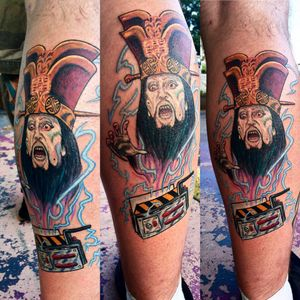 My #BigTroubleInLittleChina / #Ghostbusters crossover tattoo